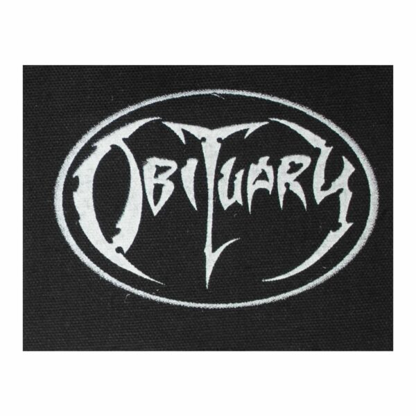 Obituary Cloth Patch