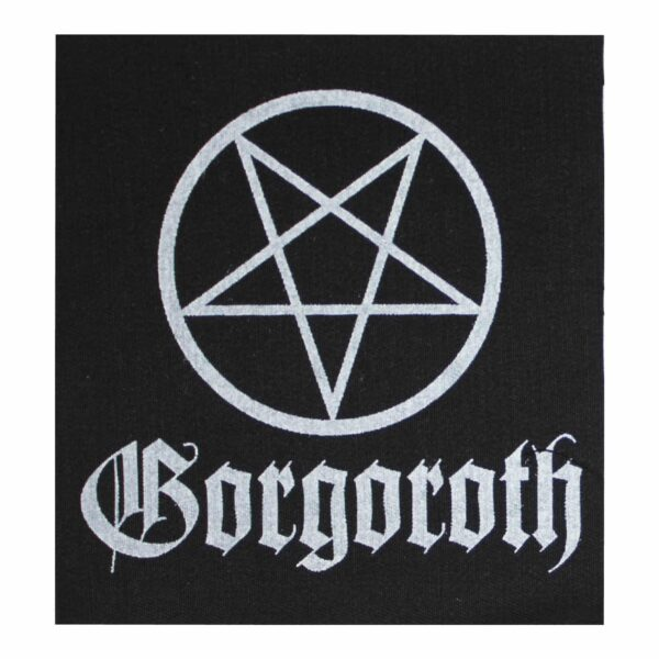 Gorgoroth Pentagram Cloth Patch