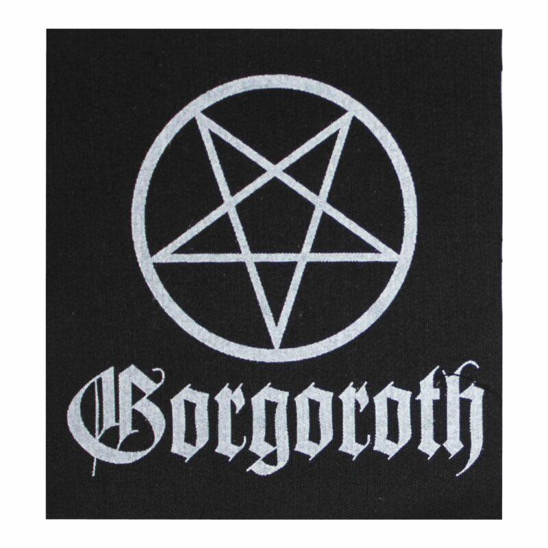 Gorgoroth Pentagram Cloth Patch