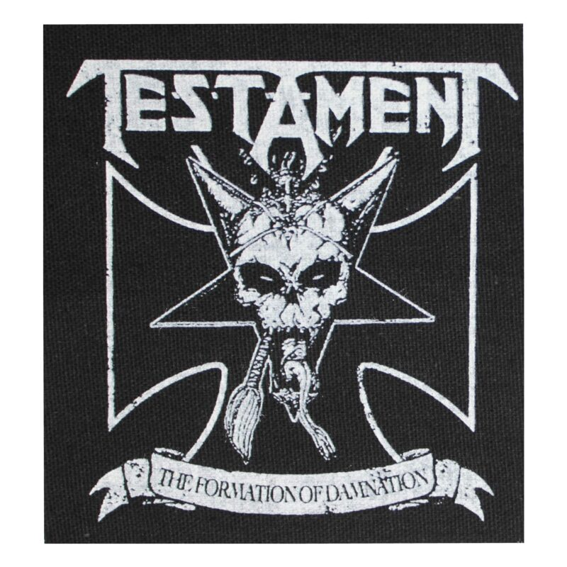 Testament The Formation of Damnation Cloth Patch