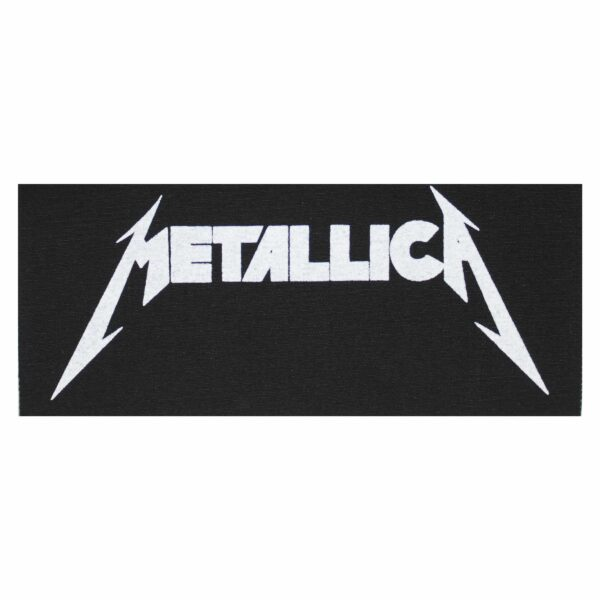 Metallica Logo Cloth Patch