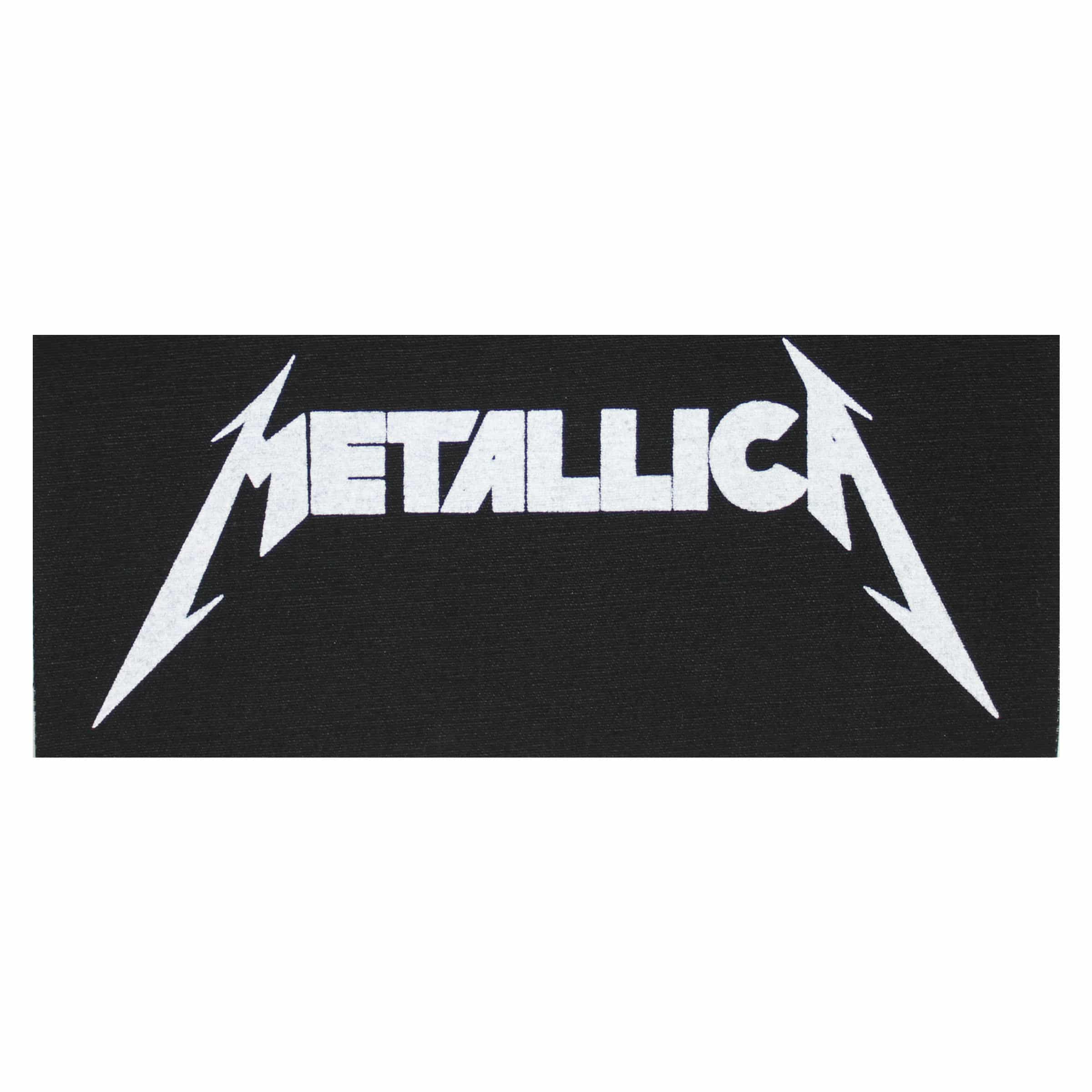 Metallica Sew On Badge Metallica Patch