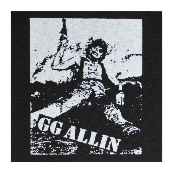 GG Allin Cloth Patch