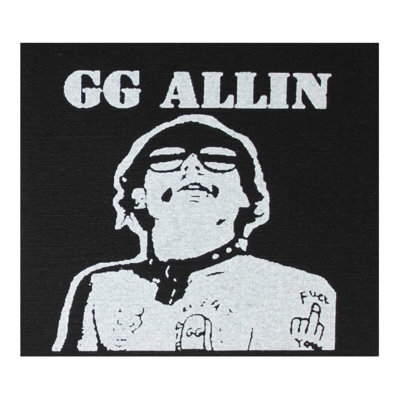GG Allin Hated in the Nation Cloth Patch