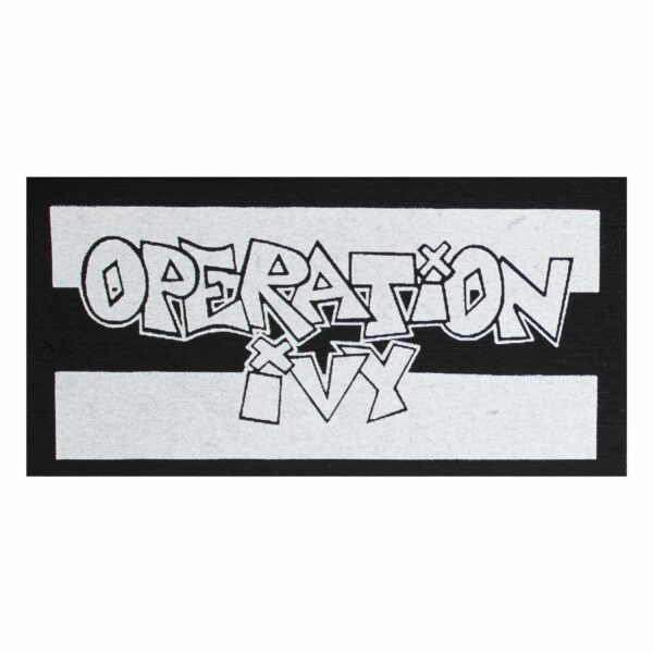 Operation Ivy Cloth Patch