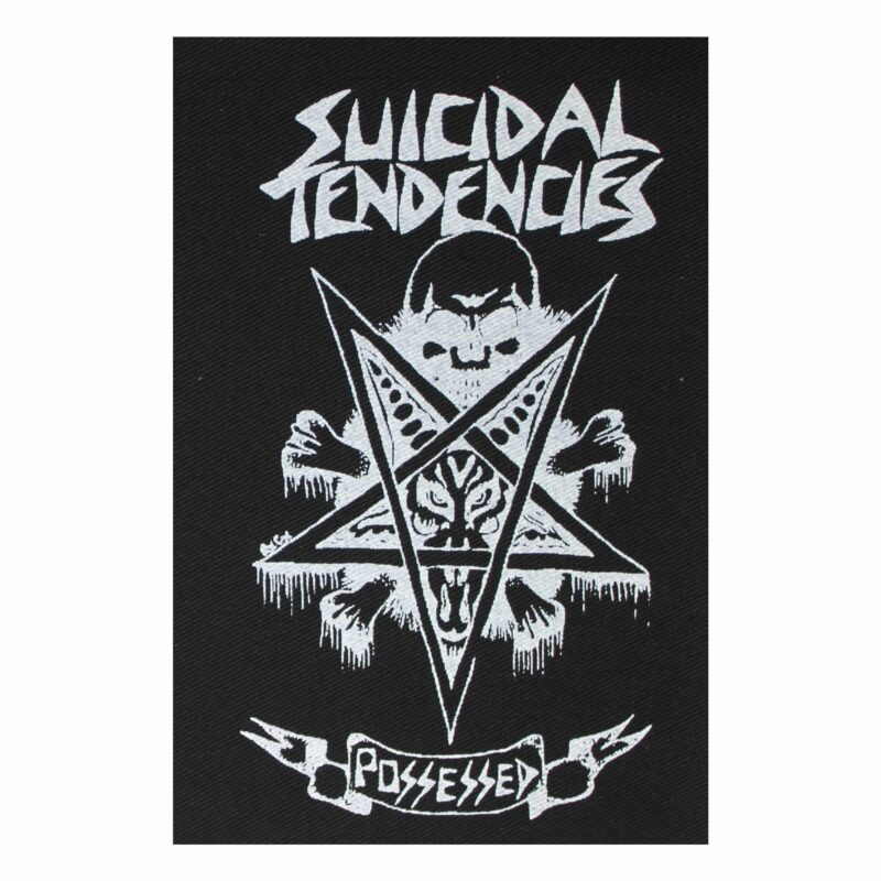 Suicidal Tendencies Possessed Cloth Patch