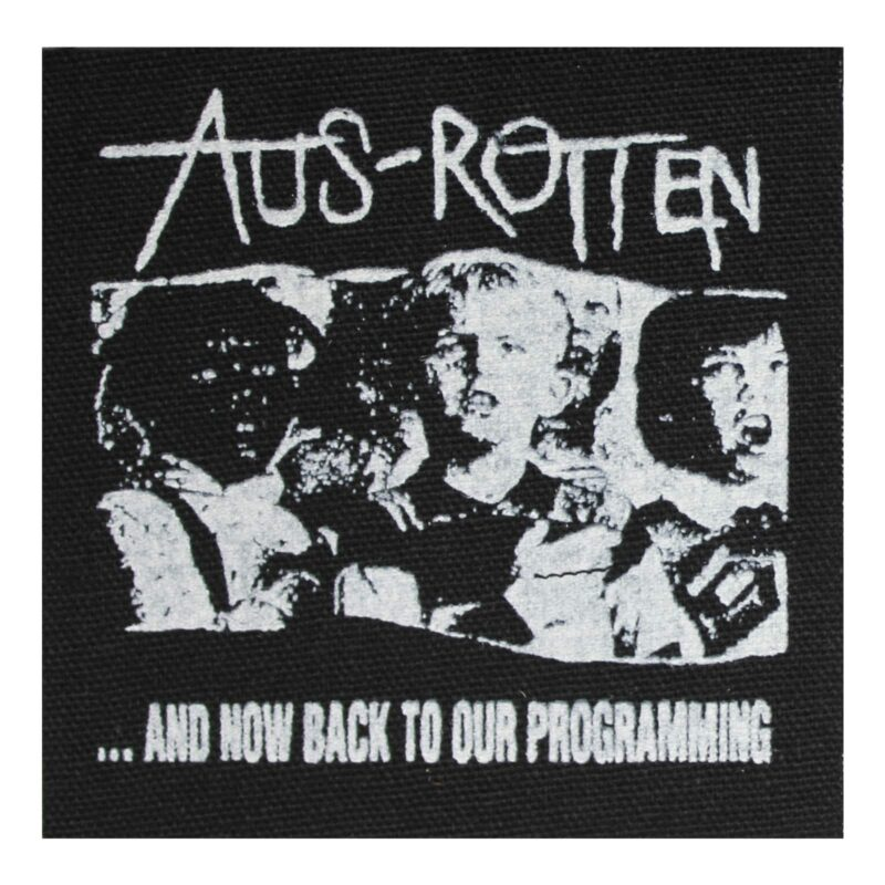 Aus Rotten Now Back to Our Programming Cloth Patch