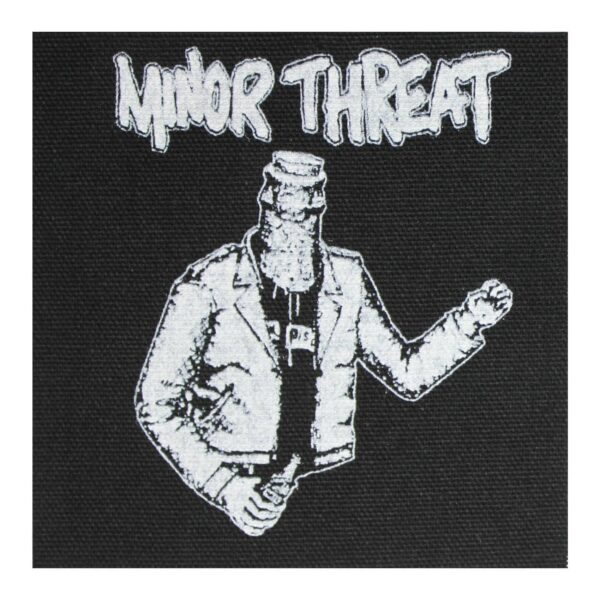 Minor Threat Bottled Violence Cloth Patch