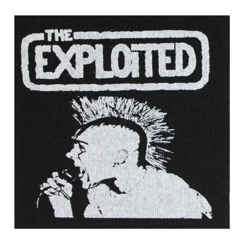 The Exploited On Stage Cloth Patch