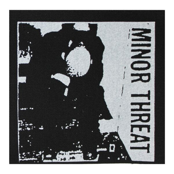 Minor Threat First Two Seven Inches Cloth Patch