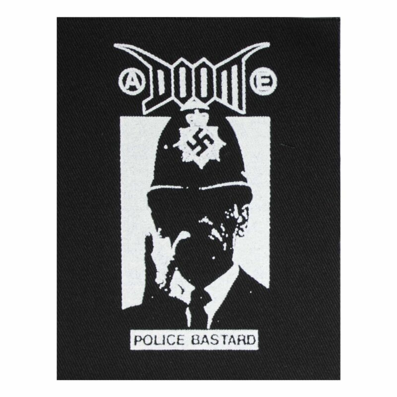 Doom Police Bastard Cloth Patch
