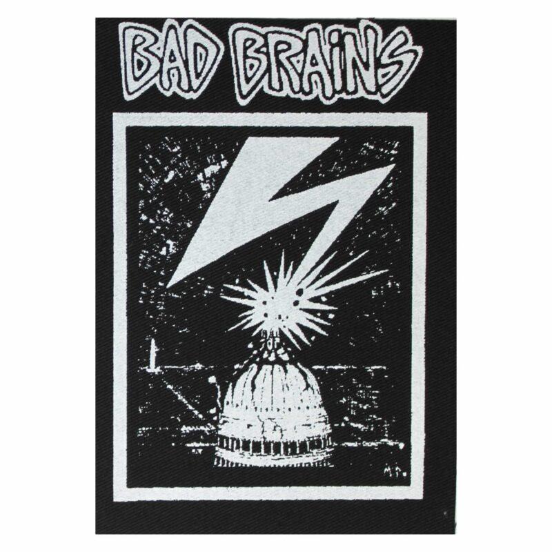 Bad Brains Cloth Patch
