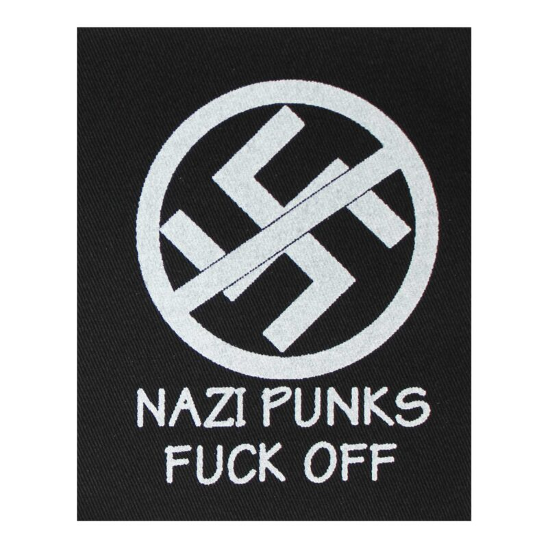 Dead Kennedys Nazi Punks Fuck Off Cloth Patch