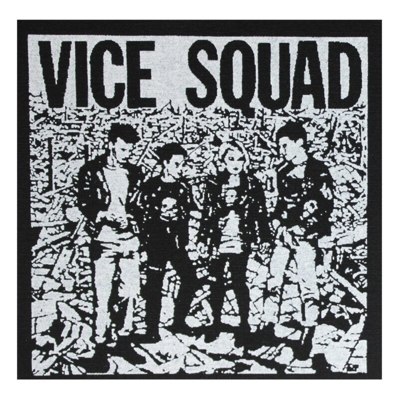 Vice Squad Last Rockers Cloth Patch