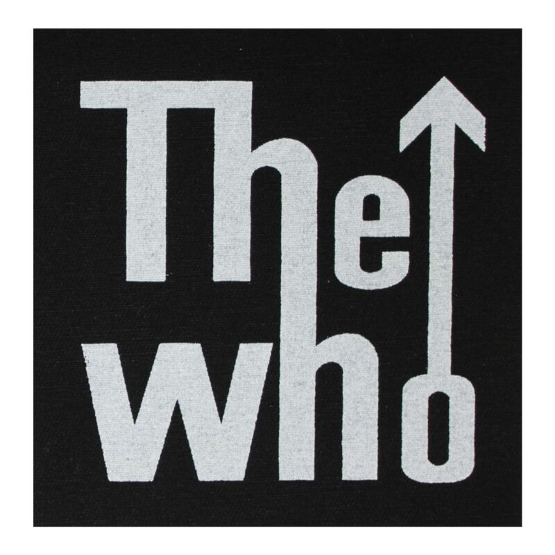 The Who Cloth Patch