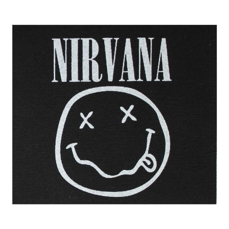 Nirvana Cloth Patch