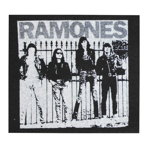 Ramones Band Cloth Patch