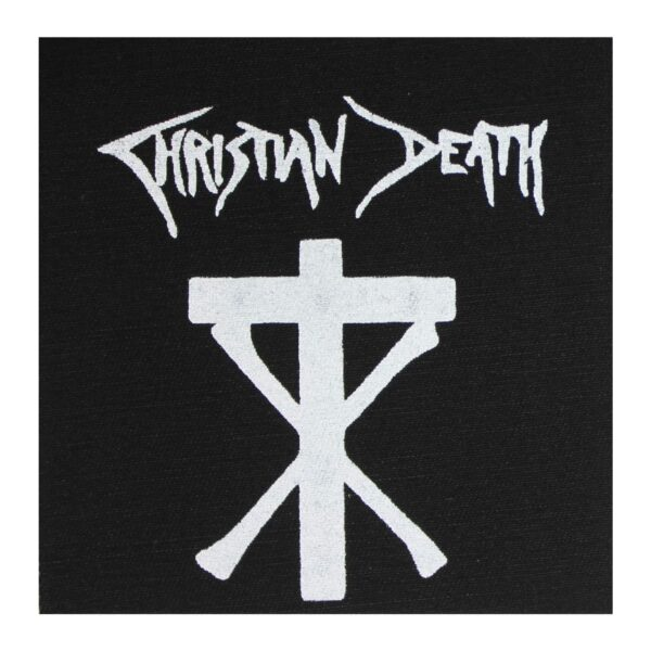 Christian Death Cloth Patch