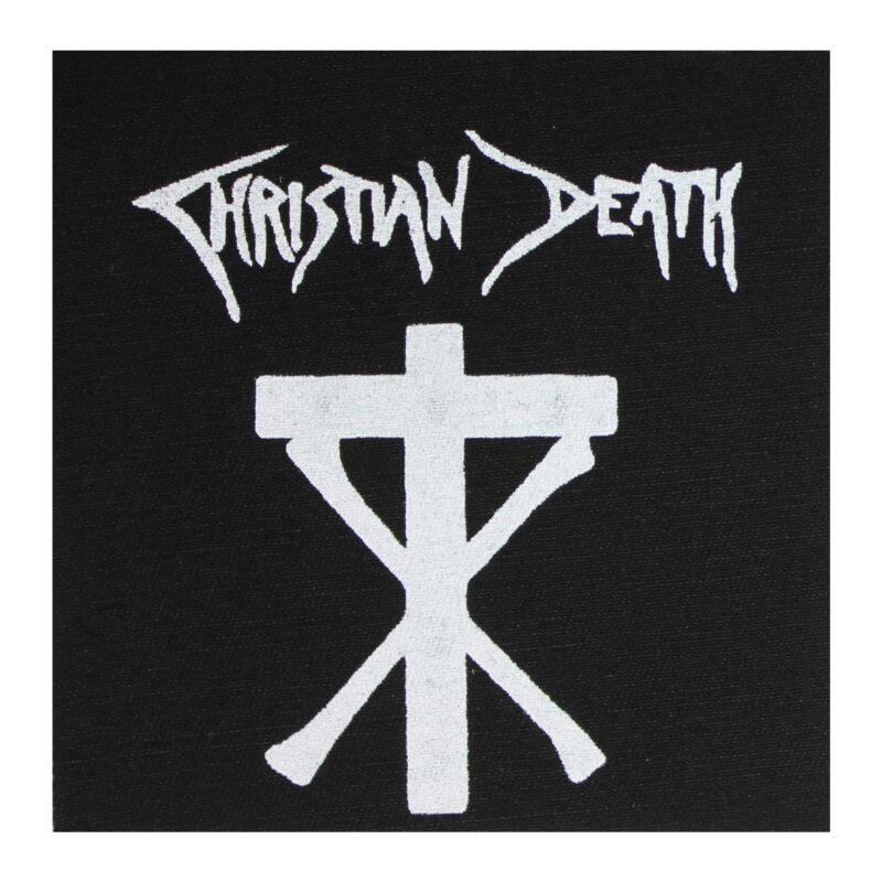 Christian Death Cloth Patch