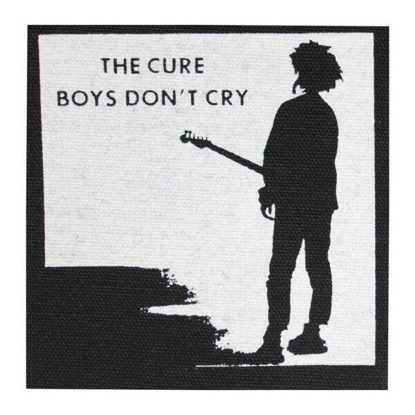 The Cure Boys Don't Cry Cloth Patch