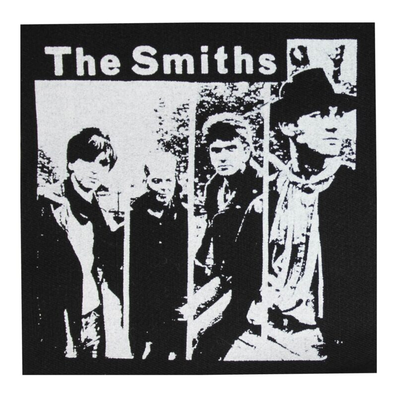 The Smiths Group Photo Cloth Patch