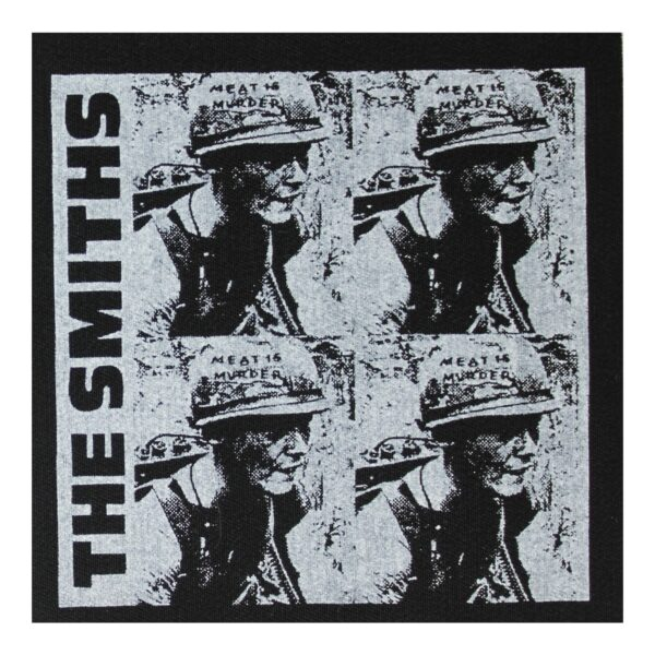 The Smiths Meat is Murder Cloth Patch