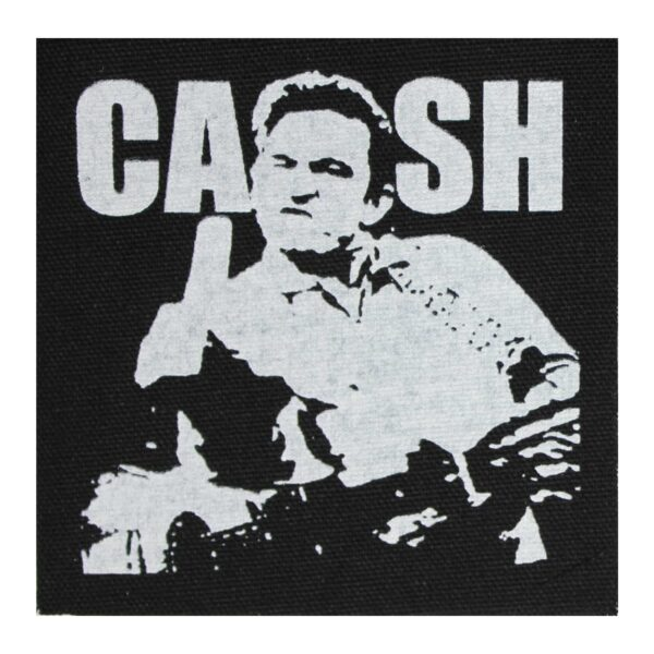 Johnny Cash Cloth Patch