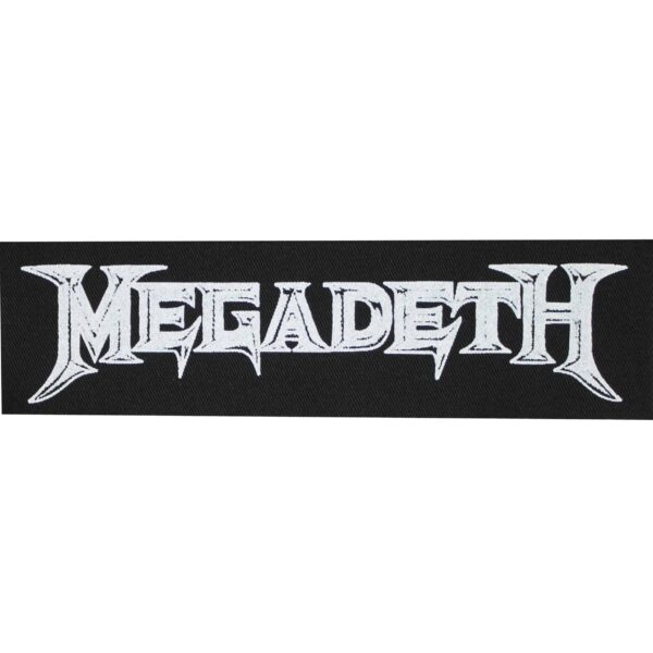 Megadeth Cloth Patch