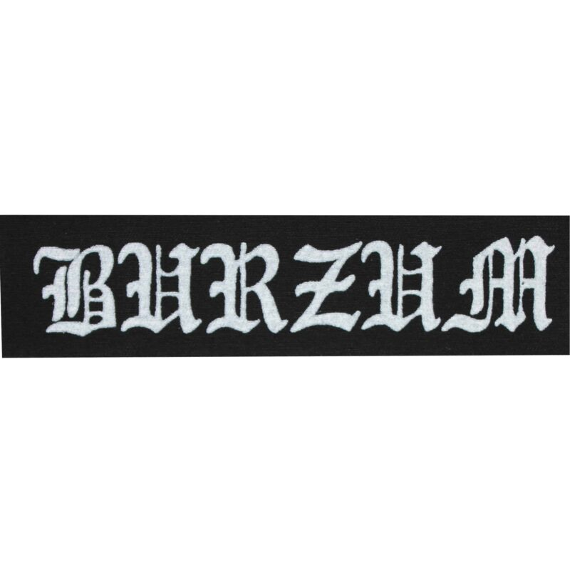 Burzum Cloth Patch