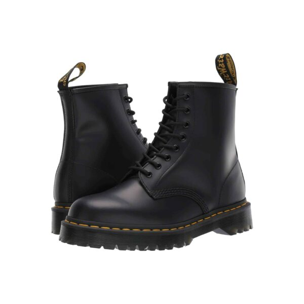 1460 Black BEX Platform 8-Eye Boot