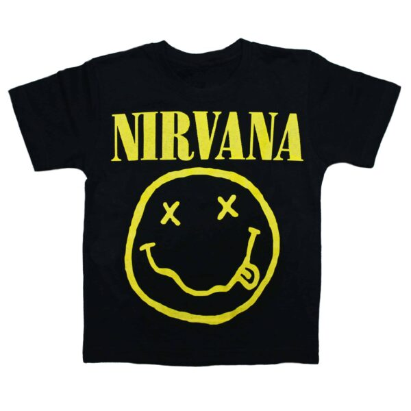 Nirvana Kids Black T-Shirt