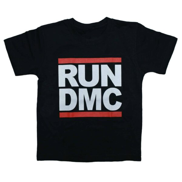 Run DMC Kids Black T-Shirt