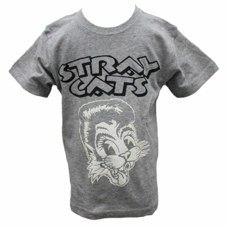 Stray Cats Kids Gray T-Shirt 1