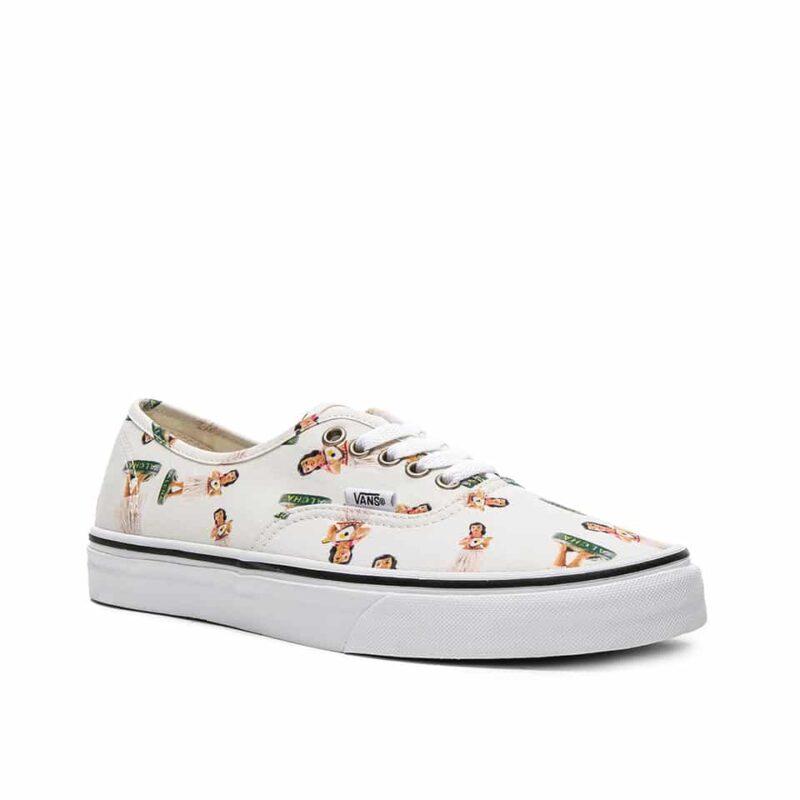 Vans Digi Hula Authentic Classic Shoe White/True White