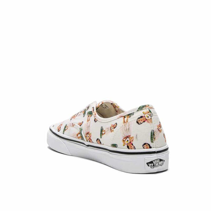 Vans Digi Hula Authentic Classic Shoe White/True White 4