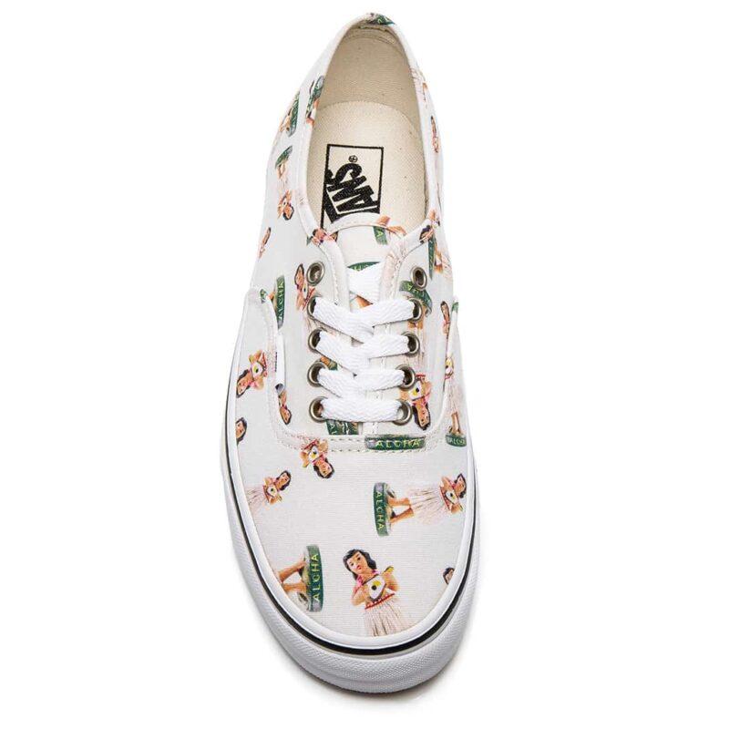 Vans Digi Hula Authentic Classic Shoe White/True White 2