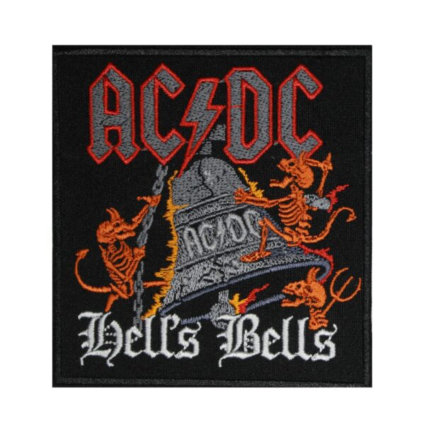 AC DC Hells Bells Embroidered Patch