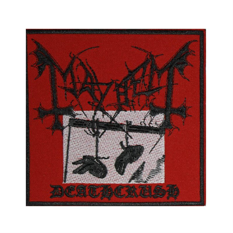 Mayhem Deathcrush Embroidered Patch