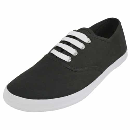Women's Black Canvas Shoe