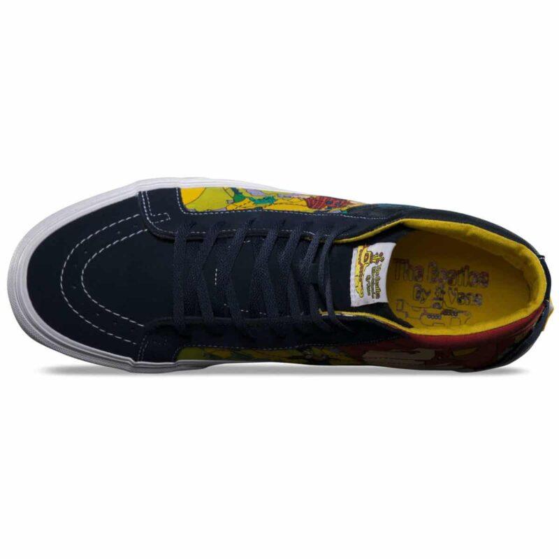 Vans Sk8 Hi The Beatles Yellow Submarine Faces Shoe 3
