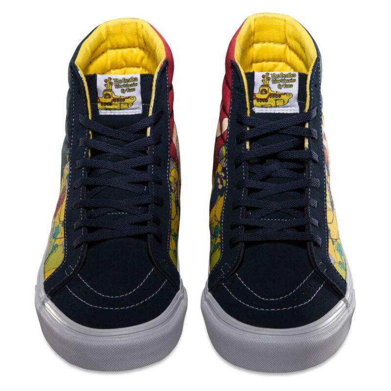 Vans Sk8 Hi The Beatles Yellow Submarine Faces Shoe 4