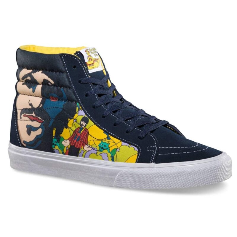 Vans Sk8 Hi The Beatles Yellow Submarine Faces Shoe