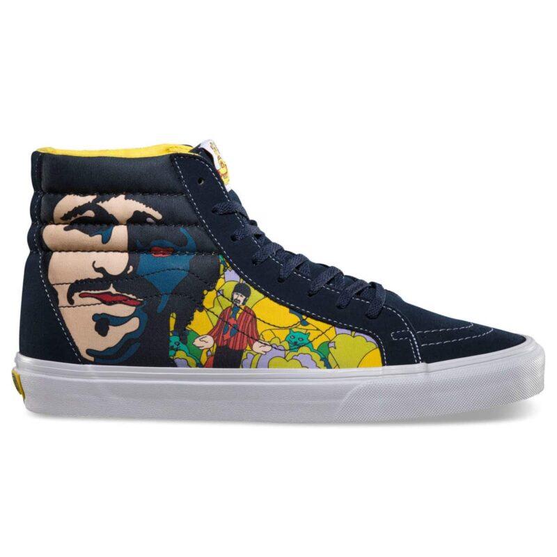Vans Sk8 Hi The Beatles Yellow Submarine Faces Shoe 1