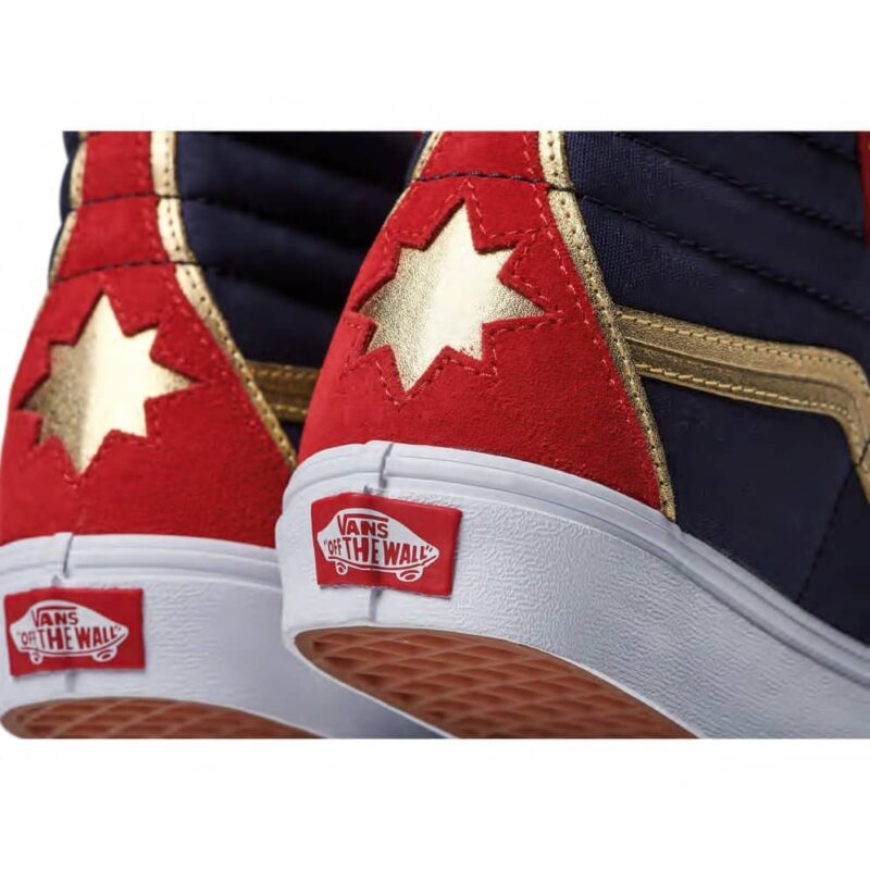 Vans Sk8-Hi Captain Marvel Shoe 5