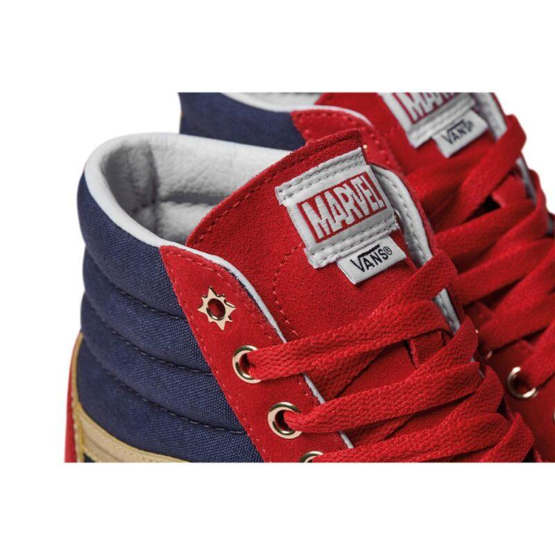 Vans Sk8-Hi Captain Marvel Shoe 1
