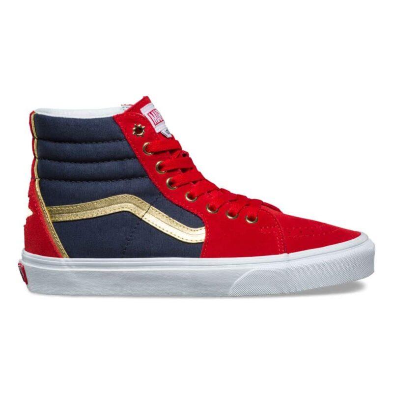Vans Sk8-Hi Captain Marvel Shoe 2