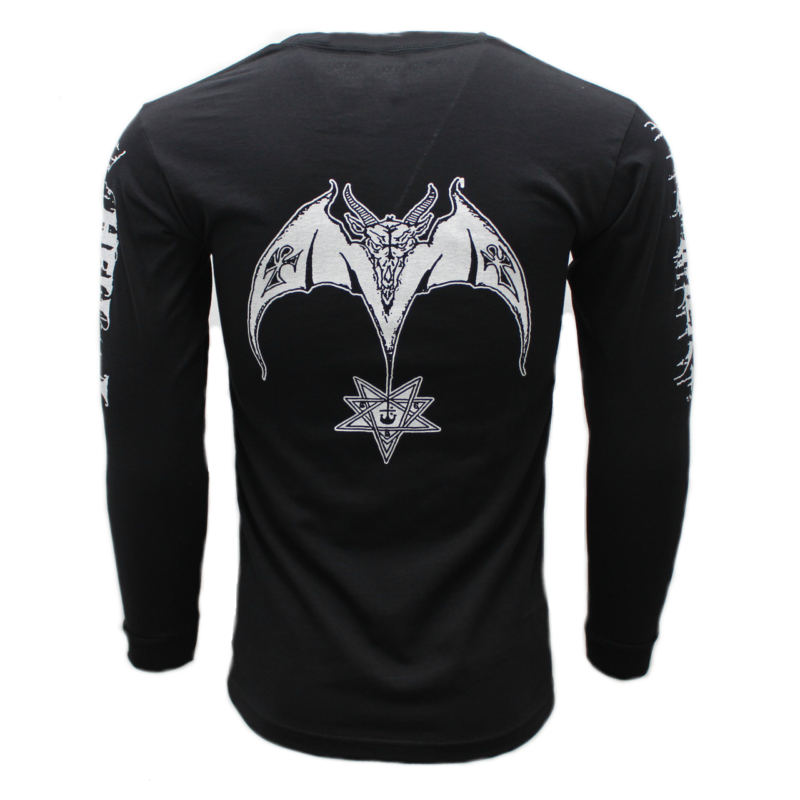 Hellhammer Satanic Rites Long Sleeve back