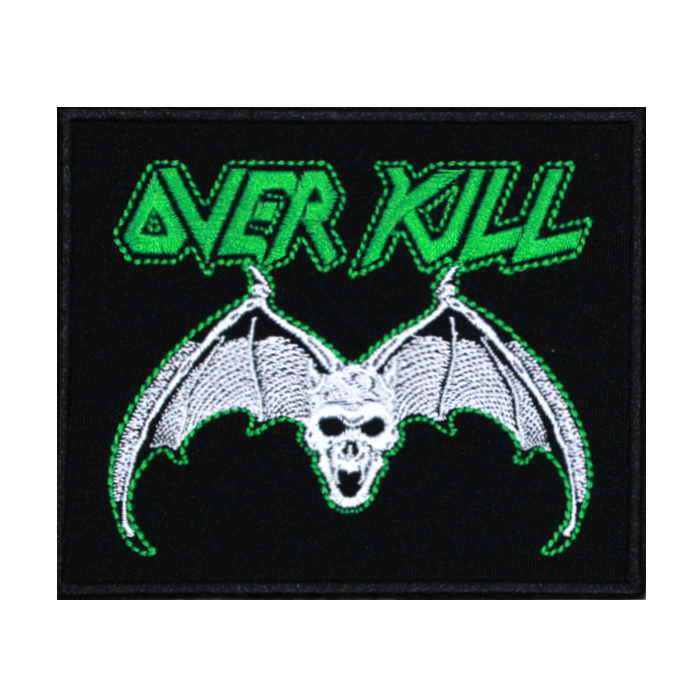 Overkill Embroidered Patch