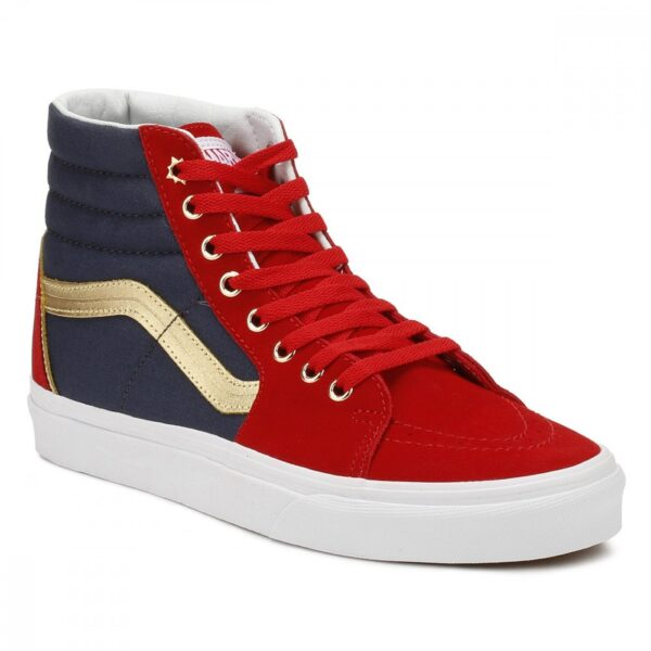 Vans Sk8-Hi Captain Marvel Shoe