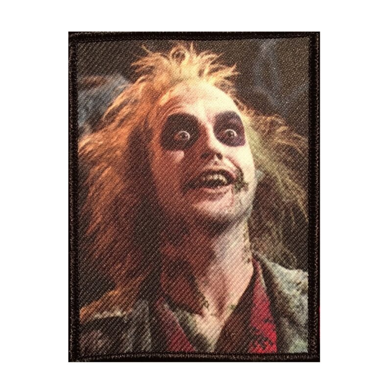 Beetlejuice Embroidered Patch